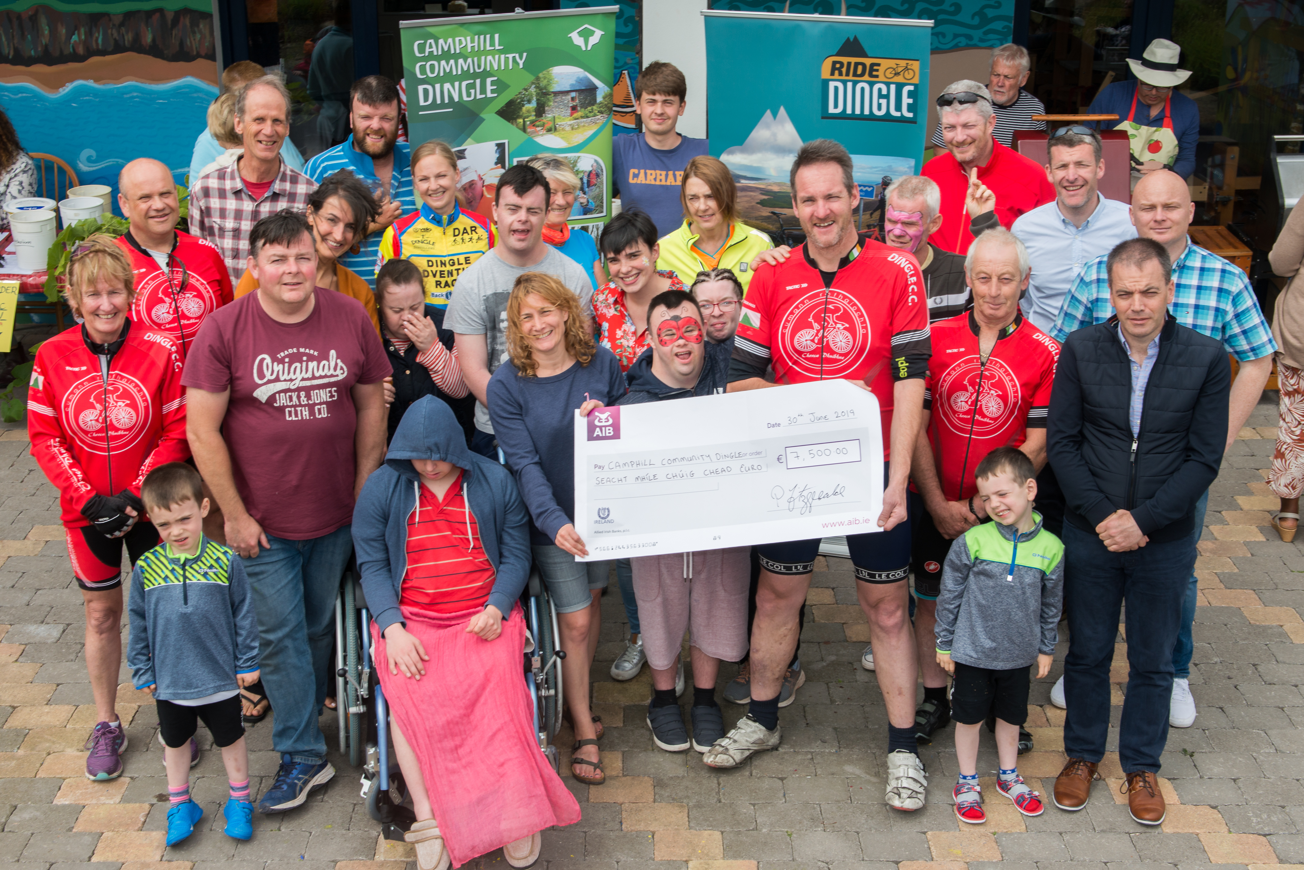 Dingle Charities Win Big from Inaugural Ride Dingle Cycle Event